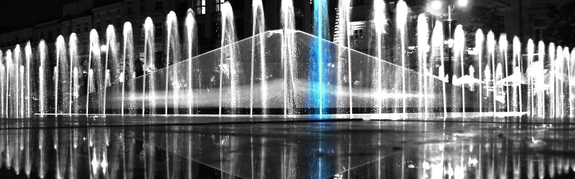 Poznań - fontanna